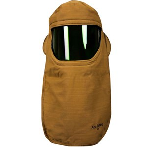65 cal FR Hood with Faceshield and Internal Fans in NOMEX® / KEVLAR®
