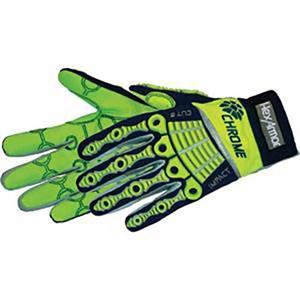 Chrome Series Mechanics Style Cut Resistant Glove