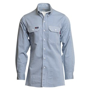 LAPCO FR Striped Uniform Shirt