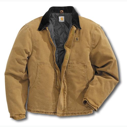 Carhartt Sandstone Traditional Jacket / Arctic-Quilt Lined - J22 : carhartt quilt lined jacket - Adamdwight.com