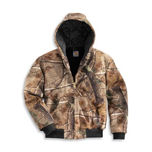 WorkCamo AP Quilted-Flannel Lined Active Jacket