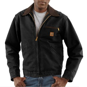 J97 Sandstone Blanket Lined Detroit Jacket by Carhartt
