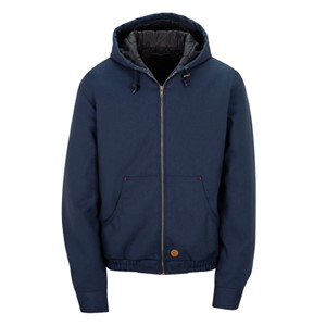 Copy of Blended Duck Zip-Front Hooded Jacket