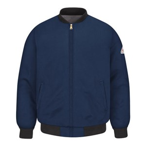 Quilt-Lined Excel FR Team Jacket in Navy