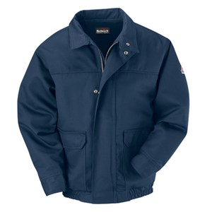 Lined FR Bomber Jacket in ComforTouch in Navy