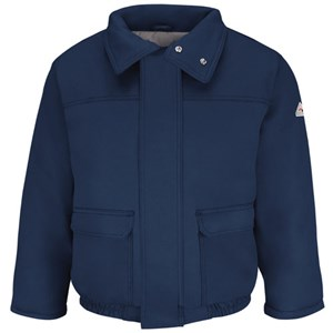 Bulwark FR Insulated Bomber Jacket in in Navy