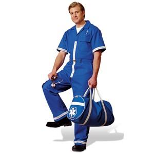 Short-Sleeve Jumpsuit