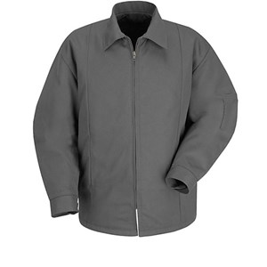 Perma-Lined Panel Jacket in Charcoal
