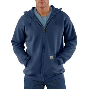 Midweight Hooded Zip-Front Sweatshirt