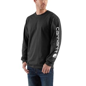 Long Sleeve Graphic Logo T-Shirt