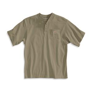 Carhartt Short-Sleeve Workwear Henley