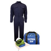 8 cal/cm² ArcGuard® Arc Flash Kit with FR Coverall with NO GLOVES