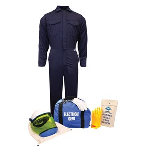 12 cal/cm² Arc Flash Kit with FR Coverall