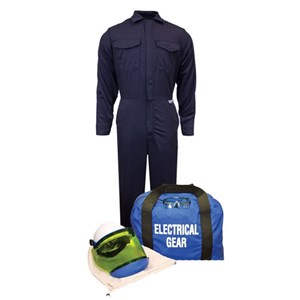 12 cal/cm² Arc Flash Kit with FR Coverall NO GLOVES