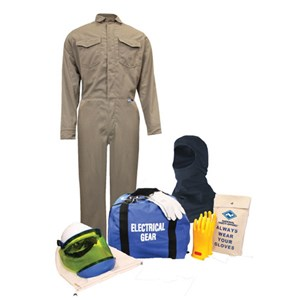 8 cal ArcGuard® Arc Flash Kit Protera FR Coverall & Hood