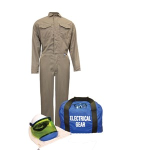 8 cal/cm² ArcGuard® Arc Flash Kit with FR Coverall NO GLOVES