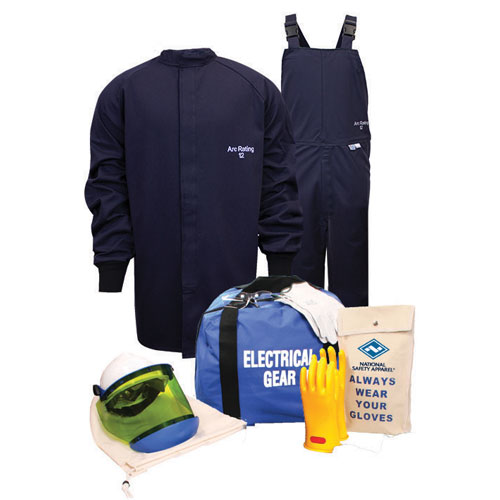 12 cal/cm² Arc Flash Kit with Short Coat and Bib