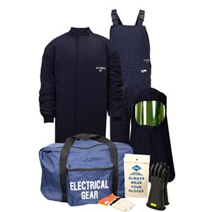 40 Cal / CAT 4 Kit with Short Coat and Bib Overall