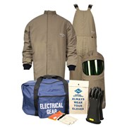 40 Cal / CAT 4 Kit with Short Coat and Bib in Protera
