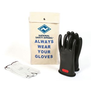 Glove Kit, 11-inch Class 0 Rubber Voltage Gloves