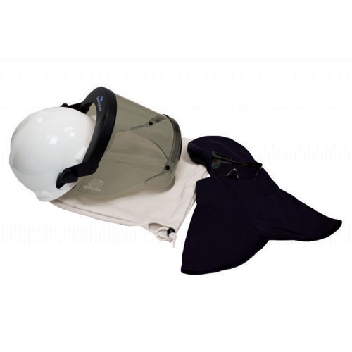 20 Cal PureView Faceshield and Hard Hat Kit