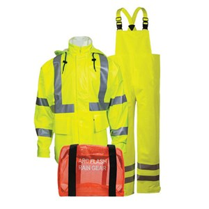 "Arc H2O™ Rain Gear Kit - 30"" Coat & Bib Overall - ANSI Class 3"