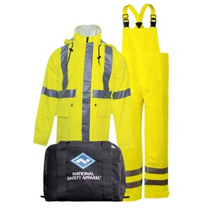 "Copy of Arc H2O™ Rain Gear Kit - 30"" Coat & Bib Overall - ANSI Class 3"