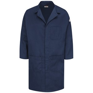 Concealed Snap-Front FR Lab Coat in EXCEL FR Blend