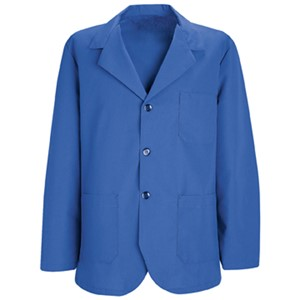 Men's Three-Button Lapel Counter Coat