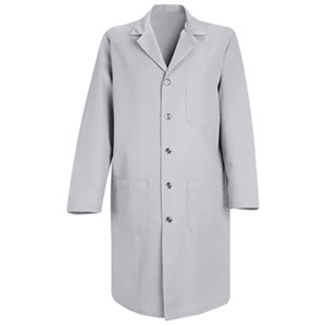 Men's Five-Button Closure Lab Coat
