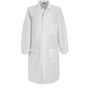 Specialized Cuffed Lab Coat with Exterior Pocket