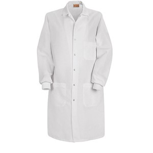Specialized Cuffed Lab Coat with Interior Pocket
