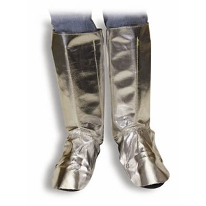 19 oz. Aluminized Carbon/Para-Aramid Legging/Velcro Closure & Soft Steel