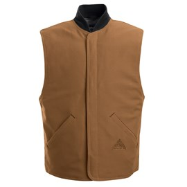 Bulwark FR Vest Jacket Liner in Brown Duck