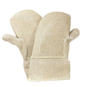 Jumbo-sized Zetex Plus™ Mitten with Thumb and Palm Patch