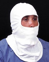 Nomex Full Feature Knit Hood White