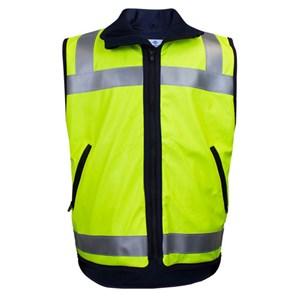FR Fleece Lined Outerwear Hi-Vis Vest