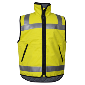 Hi-Vis Quilted Lined Outerwear Vest