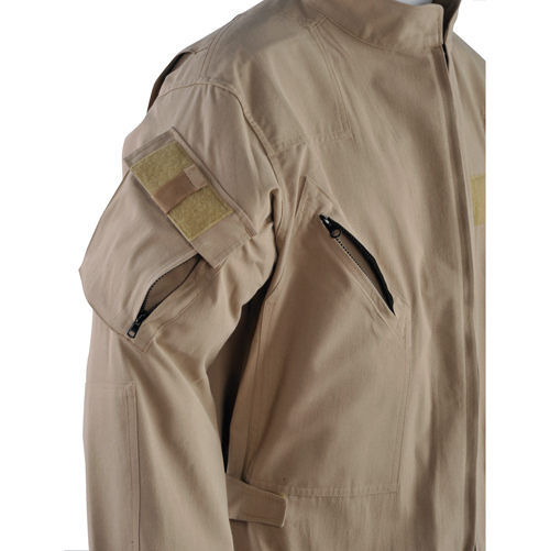Arm Pocket on Navy Flight Suit Jacket