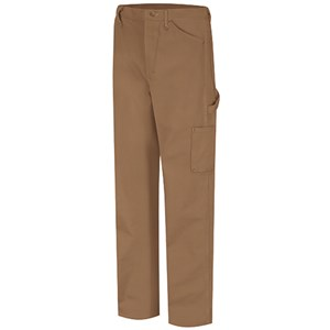 Bulwark Flame Resistant Dungaree in Brown Duck