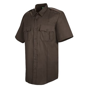 Mens Sentry Plus Short Sleeve Shirt with Zipper