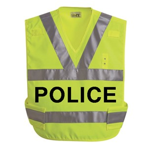 Hi-Visibility Breakaway Safety Vest with Imprint