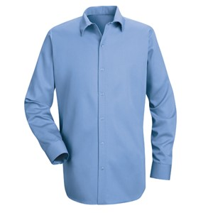 Specialized Pocketless Long Sleeve Cotton Work Shirt