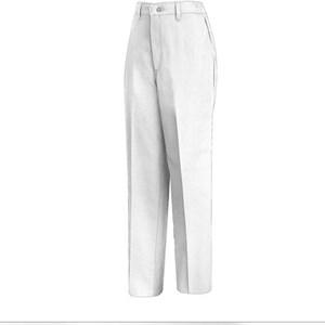 Women's Elastic Insert Work Pant in White