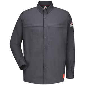 iQ Flame Resistant Concealed Pocket Work Shirt