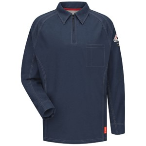 iQ Flame Resistant Long Sleeve Polo Shirt