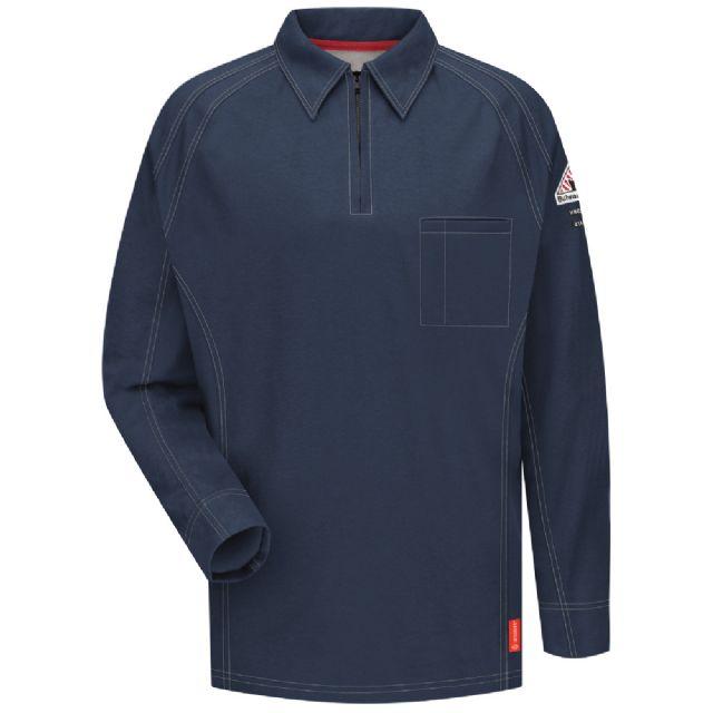 Iq Flame Resistant Long Sleeve Polo Shirt Qt12