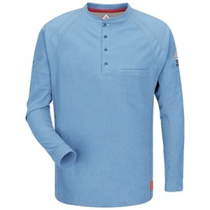 iQ Flame Resistant Long Sleeve Henley Shirt