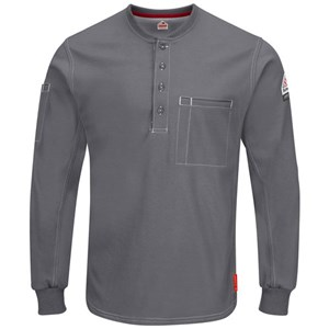 iQ Comfort Plus Long Sleeve Henley