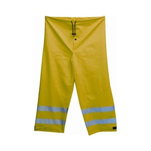 10 oz. Yellow PU Coated FR Cotton Class E Waist Pant